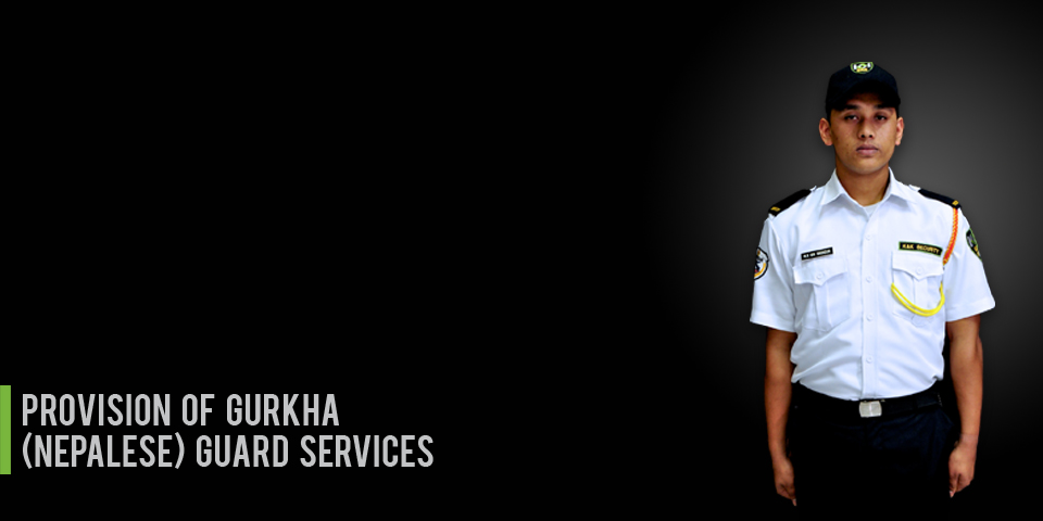 Provision of Gurkha (Nepalese) Guard Services